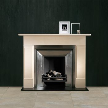 Chesneys Colebrooke fireplace with the Godwin register grate