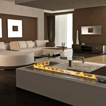 Decoflame Bioethanol Fire Denver F E-Ribbon Fire Main