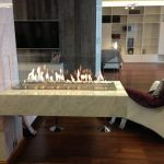 Decoflame Bioethanol Fire Denver Basic E-Ribbon Fire Detail 1