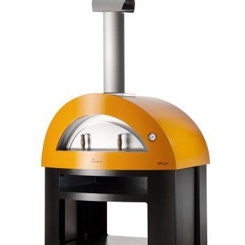 Alfa Pizza Allegro wood-fired oven yellow main 682