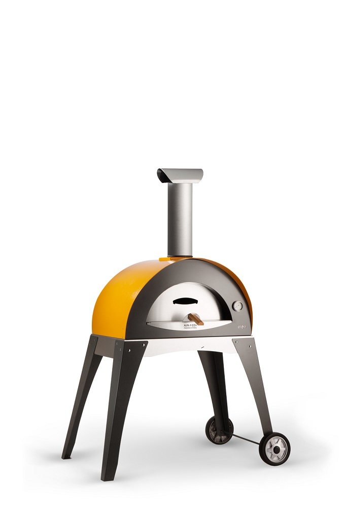 Alfa Pizza Ciao wood-fired oven yellow main 682