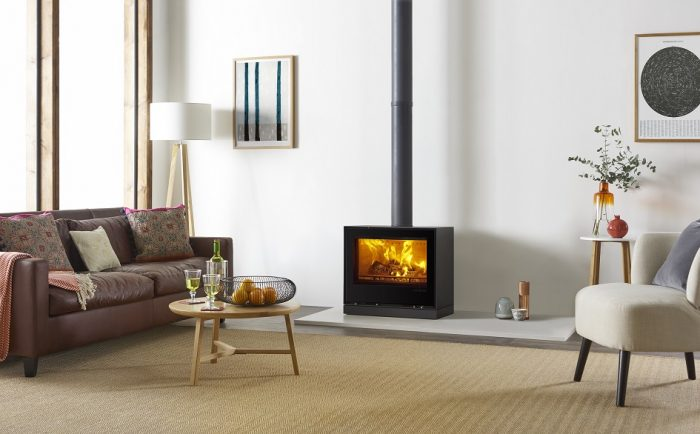Stovax & Gazco Elise 680 Freestanding wood burning or multi-fuel stove