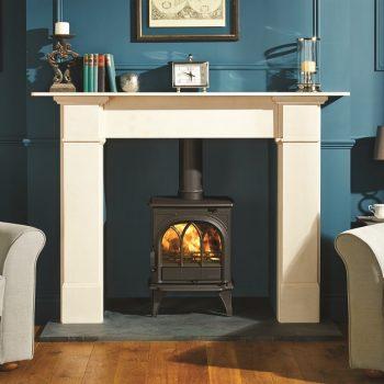 Stovax & Gazco Huntingdon 25 wood burning stove with tracery door