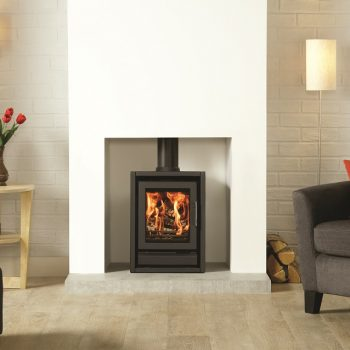 Stovax & Gazco Riva F40 freestanding wood burning or multi-fuel stove