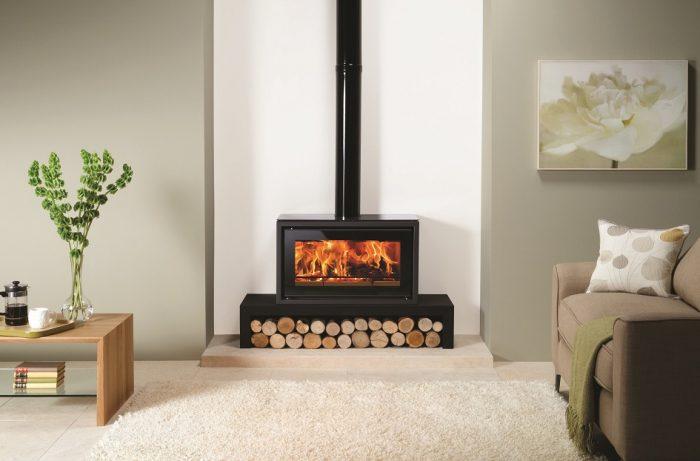 Stovax & Gazco Studio 1 wood burning stove