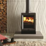 Stovax & Gazco View 3 wood burning or multi-fuel stove