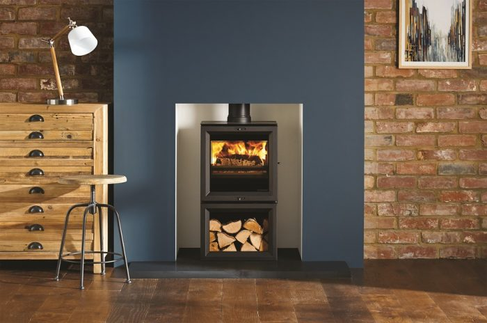 Stovax & Gazco View 5 Midline wood burning or multi-fuel stove