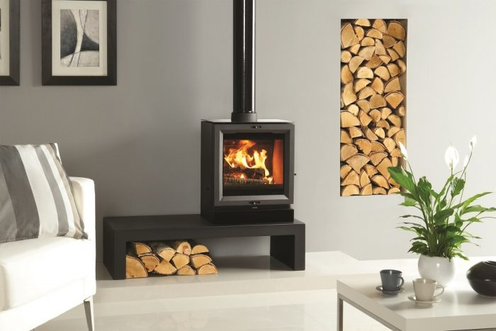 Stovax & Gazco View 5 wood burning or multi-fuel stove