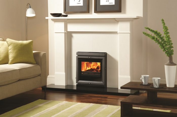 Stovax & Gazco View 7 inset convector wood burning or multi-fuel stove