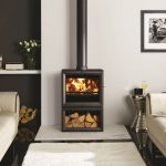 Stovax & Gazco View 8 midline wood burning or multi-fuel stove