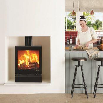Stovax & Gazco Vision Medium wood burning stove