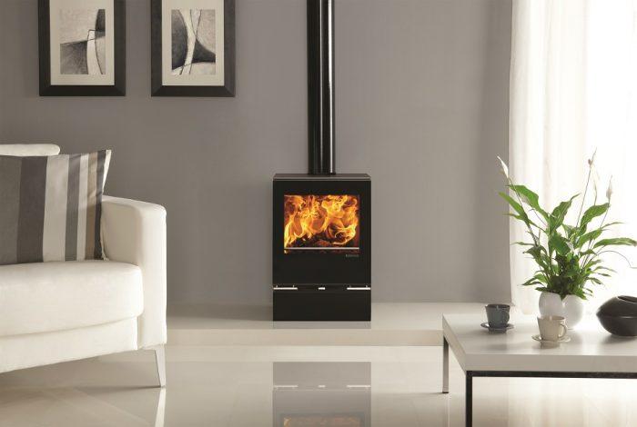 Stovax & Gazco Vision Midi wood burning or multi-fuel stove