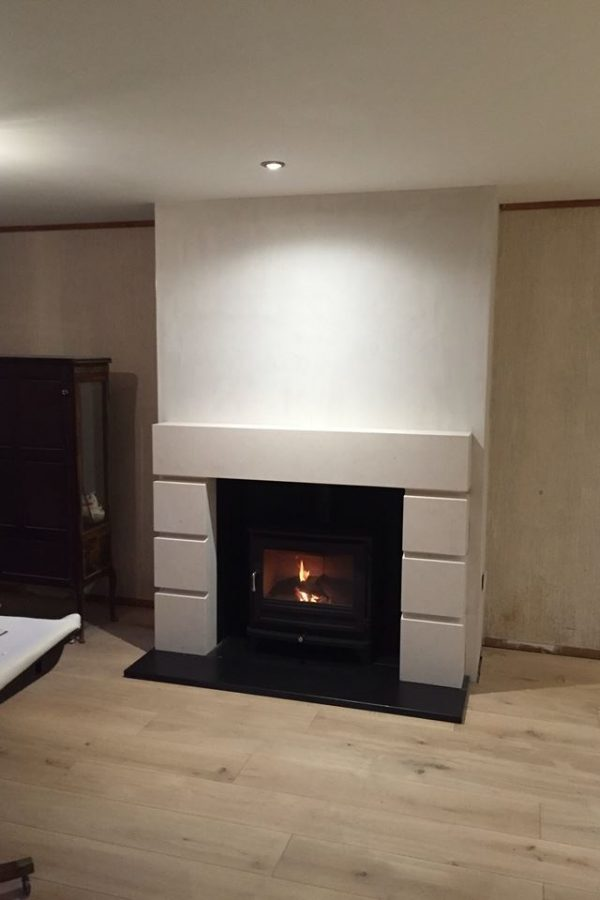 Chesneys Tate fireplace and Salisbury 12 wood burning stove, Tunbridge Wells, Kent 720