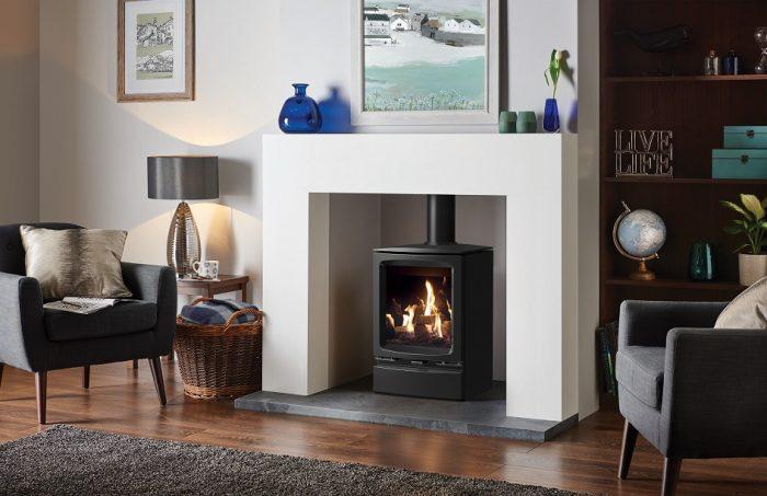 Stovax & Gazco Vogue Midi gas stove