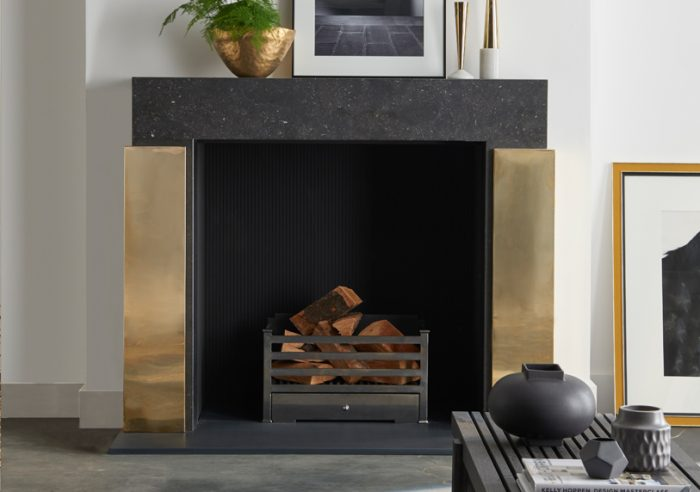 Chesneys Pinter fireplace by Kelly Hoppen