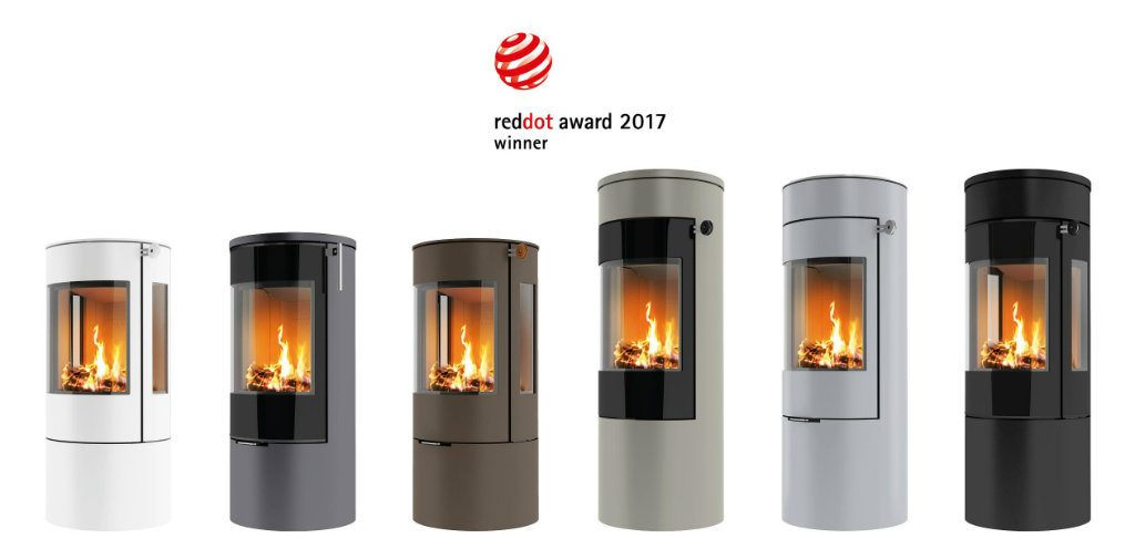 Authorised dealer Danish Rais wood burning stoves Red Dot award