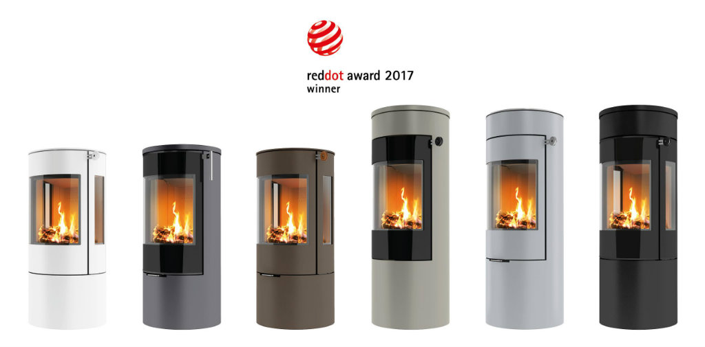 We are now an authorised dealer of Danish Rais wood burning stoves
