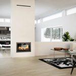 Rais 2:1 interior wood burning stove insert