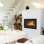 Rais 500-1 interior wood burning stove insert