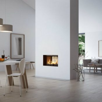 RAIS Visio Tunnel 2:1 wood burning stove