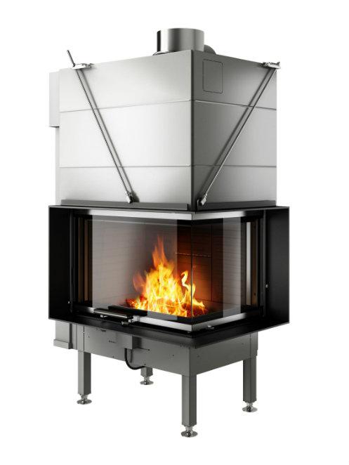 Rais Visio 2 product wood burning stove insert