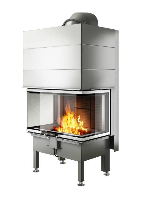 Rais Visio 3 product wood burning stove insert