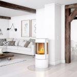 Rais Viva L 100 Classic interior wood burning stove
