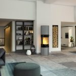 Rais Viva L 160 interior wood burning stove