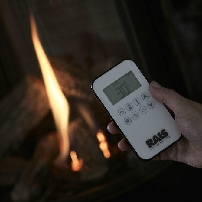 Rais Viva L remote control app gas stove