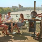 Chesneys Heat Collection BBQ barbeque heater 400 lifestyle