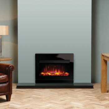 Stovax & Gazco Riva2 670 Designio2 Glass electric fire