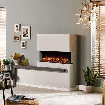 Stovax & Gazco Skope Outset 110kw electric fire