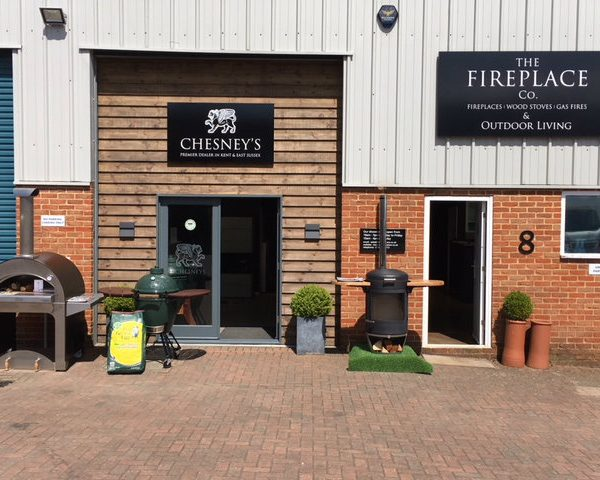 Chesney HEAT 500 BBQ heater now in showroom outside display