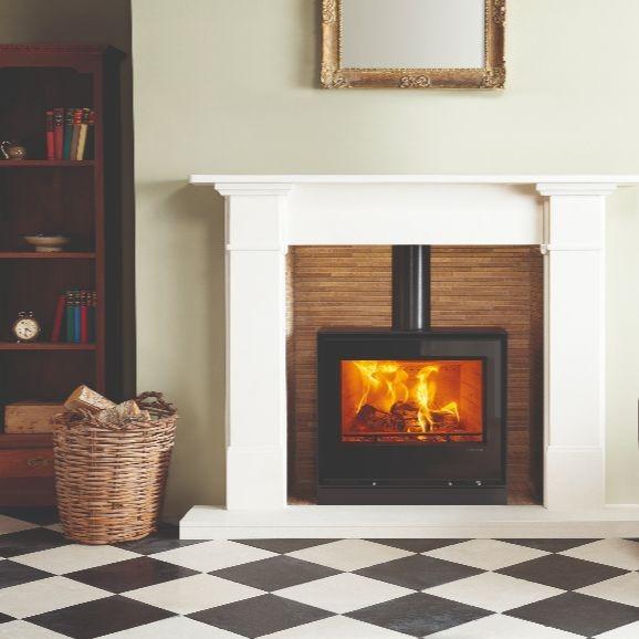 Elise wood burning stoves brand page