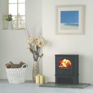 Stockton wood burning stoves brand page