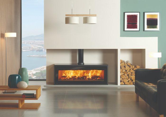 Stovax & Gazco Studio 3 Freestanding wood burning stove