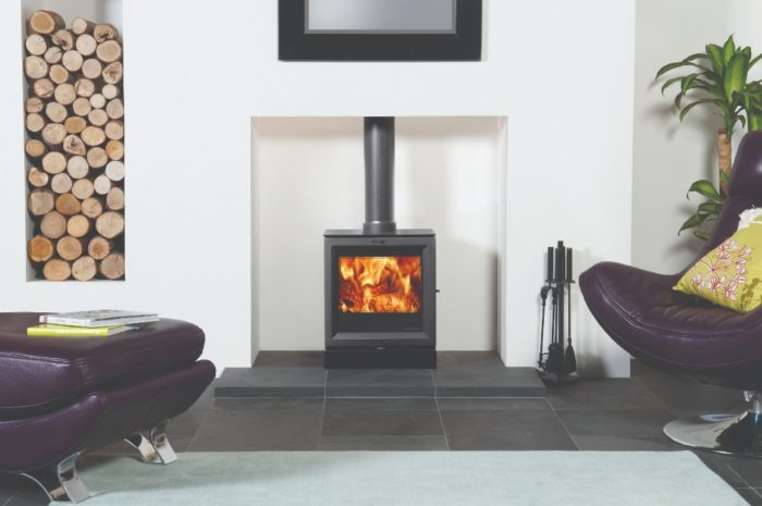 Stovax & Gazco View 5 wood burning stove