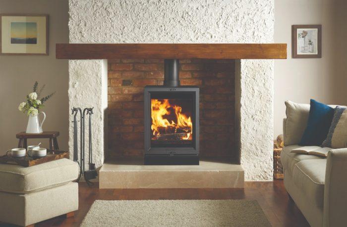 Stovax & Gazco View 5T wood burning stove