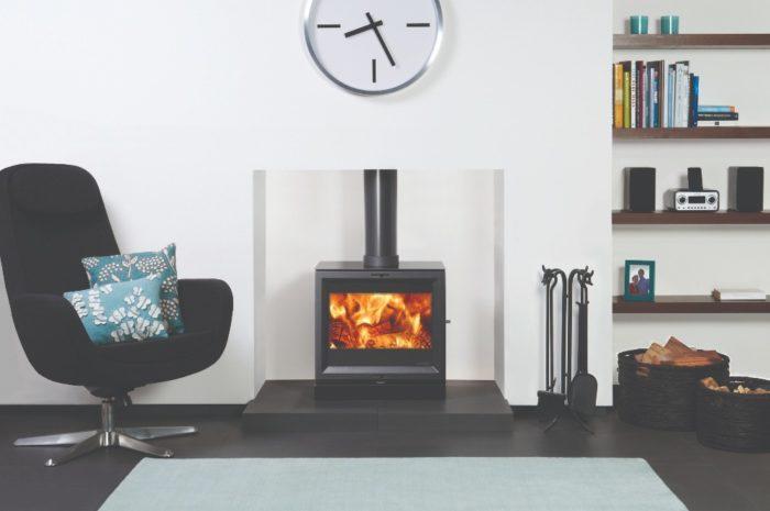 Stovax & Gazco View 8 wood burning stove